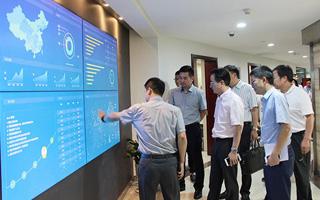【企业新闻】杭州下城区区委书记一行调研走访即时物流企业点我达