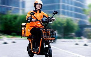 【企业动态】点我达首推行业新国标电动车 助力骑手安全上路